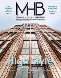 100 Modern Homes Magazine Shaddock Featured In Home Builder