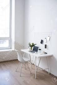100 Minimalist Loft Stylish White Professional Office Interior Minimalist Loft Workspace