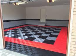 Racedeck Flooring Vs Epoxy by Race Deck Huge Home Garage With Racedeck Garage Flooring Cool