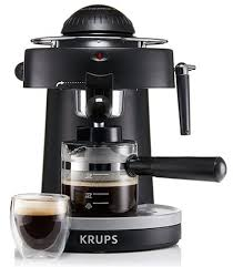 KRUPS XP1000 Steam Espresso Machine With Frothing Nozzle Review