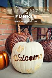 Dremel Pumpkin Carving Set by Carving U0026 Etching A Funkin With A Dremel Micro