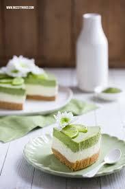 matcha cheesecake rezept ohne backen mit limette nicest things