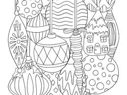 Free Christmas Ornament Coloring Page TGIF This