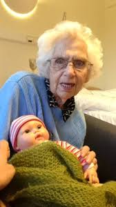 94YearOld Grandmother With Dementia Thinks Baby Doll Is Her