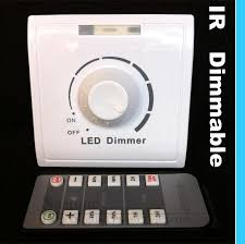 ir dimmer switch 110v 240v with for led lights infrared remote