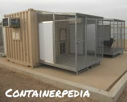 100 Shipping Containers Converted Container Kennel Modification