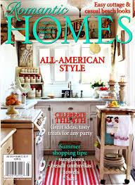100 European Interior Design Magazines Featured In Romantic Home Magazine Garden