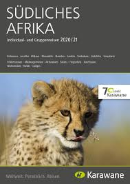 2020 südliches afrika reisekatalog karawane reisen by