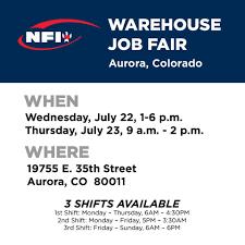 100 Nfi Trucking Jobs NFI Industries Job Fair In Aurora Colorado Begins Facebook
