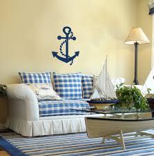 Nautical Living Room Sofas by Interior Incredible Blue Nautical Living Room Decoration Using
