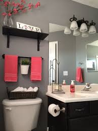 Bathroom Stunning How To Decorate A Decorating Ideas On Budget Grey Wall