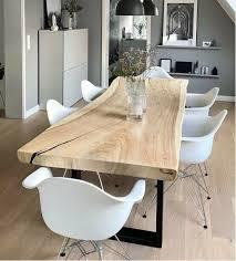 esstisch baumkante massivholz tisch baumstamm tisch baumscheibe