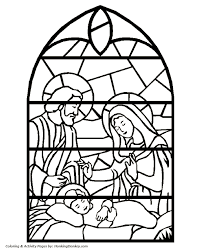 Kids Christmas Bible Coloring Page Sheets Are Great For Children To About The Meaning Of These Religious Pages Depict Some