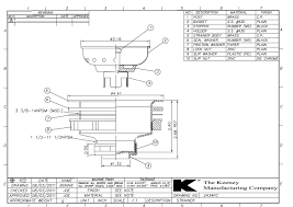 Install Sink Strainer Basket by Sink Strainers U2014 Cad Drawings The Keeney Manufacturing Company