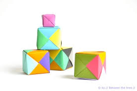 How To Make Origami Paper Cubes
