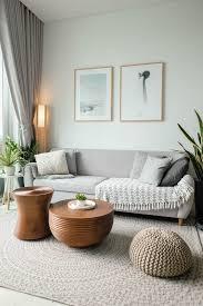 wohnen in skandinavischem stil natürliche materialien und