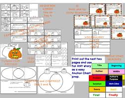 The Biggest Pumpkin Ever By Steven Kroll by The Biggest Pumpkin Ever Interactive Read Aloud Lesson Plans And