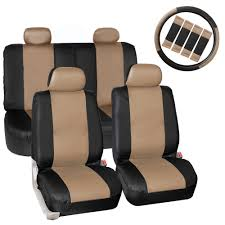 BESTFH: Beige Car Seat Covers PU Leather W/Accessories/Gray Heavy ... Dog Car Accsories For Sale Travel Dogs Online Heavy Duty Design Universal Double Van Seat Cover From Direct Parts Universal Pu Leather Seat Covers Truck Van Front Amazoncom Universal Cover Case With Organizer Storage Muti Oxgord 2piece Full Size Saddle Blanket Bench Isuzu Dmax 2012 On Easy Fit Tailored Double Cab Bestfh Beige Faux Leather Auto Combo Wblack Solid Black For Set Wheavy Heavy Duty Seat W Arm Rests For Forklifts Tehandlers Premium Rear White Horse Motors 2 Headrests Floor