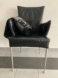 ledersessel stuhl esszimmer büro 4x top acheter sur ricardo
