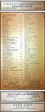 El Patio Fremont Drink Menu by 1941 Las Vegas Classifieds Over50vegas Com