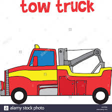100 Tow Truck Vector Red Tow Truck Vector Illustration Stock Art Illustration