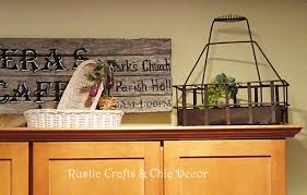 Rustic Above Kitchen Cabinet Decor Wow Blog