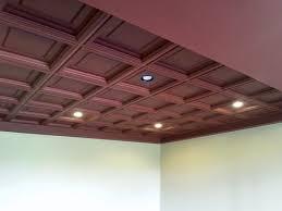 merlot ceiling tiles make a bold ceiling statement drop