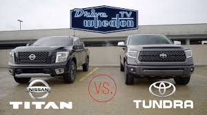 Nissan Titan Vs. Toyota Tundra | Full-Size Pickup Comparison - YouTube Nissan Charges Back Onto The Fullsize Pickup Truck Battlefield With 2017 Titan Halfton In Crew Cab Form Priced From 35975 2012 Pro4x First Test Motor Trend Renault Alaskan Reveal Allnew Neu Midsize On All New Titan Xd Full Size Production Begins At Canton Appears With Stylish Muscular Bonnet And Large Expands Pickup Line Truck Talk Vans Cars And Trucks 2004 Brooksville Fl Vs Toyota Tundra Fullsize Comparison Youtube 2018 Frontier Midsize Rugged Usa Named North American Truckutility Of Year