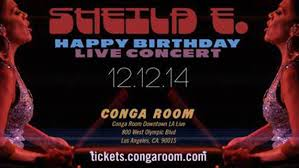 Conga Room La Live Concerts by Singer Songwriter Sheila E Discusses Her Upcoming Performance At