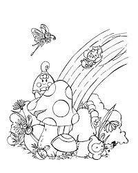 Simplistic Rainbow Coloring Pages Image 15