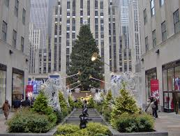 Rockefeller Plaza Christmas Tree Live Cam by Rockefeller Center 2007 Christmas Tree Daytime A Photo On