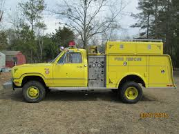 1976 Dodge Power Wagon W300 Mini Pumper Emergency Fire Truck 20,943 ...