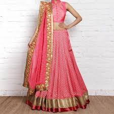 Buy Pink Designer Lehenga Choli Online Women Ethnic Wear At