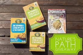 Pumpkin Flaxseed Granola Nutrition by Nature U0027s Path 30th Anniversary Giveaway Free Magazine Icebox