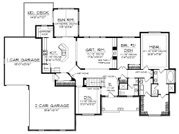 Sunroom Plans Photo by Ranch House Plans With Sunroom Homes Zone