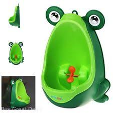 Pink Frog Potty Chair by Mkool Cute Frog Potty Training Urinal For Boys With Funny Aiming