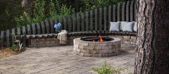 Weston Stone Contemporary Stone Fire Pit Kit
