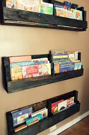 Pallet Bookshelf Design Ideas with DIY Tutorial