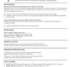 Campus Police Officer Resume Examples Download Example