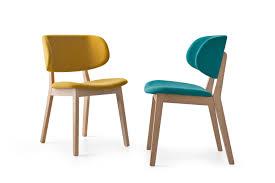 calligaris chaises chaise rembourrée en tissu by calligaris design orlandini