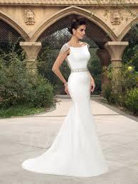 mermaid cap sleeves beaded sweep train wedding dress tbdress com