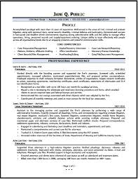 Paralegal Resume 01 Pg1