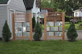 Backyard Entertaining: Privacy Fence Before & After | This Nest Is ... 75 Fence Designs Styles Patterns Tops Materials And Ideas Patio Privacy Apartment Backyard 27 Cheap Diy For Your Garden Articles With Tag Fabulous Example Of The Fence Raised By Mounting It On A Wall Privacy Post Dog Eared Cypress W French Gothic 59 Diy A Budget Round Decor En Extension Plans Lawrahetcom
