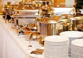 Chafing Dishes Keep Buffet Foods Warm