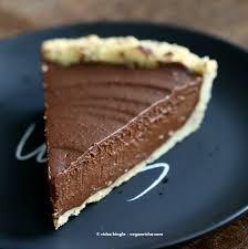 vegan chocolate pumpkin pie with almond crust vegan richa