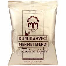 Turkish Coffee By Kurukahveci Mehmet Efendi 35 Oz Yummy Bazaar