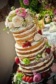 Wedding Cake Rustic Theme Picture Naked Cakes A Great Concept For Weddbook