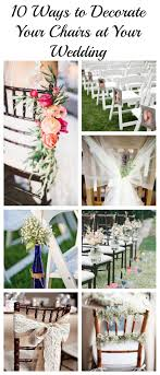 10 Ways To Decorate Your Chairs At Your Wedding - Rustic ... 16 Easy Wedding Chair Decoration Ideas Twis Weddings Beautiful Place For Outside Wedding Ceremony In City Park Many White Chairs Decorated With Fresh Flowers On A Green Can Plastic Folding Chairs Look Elegant For My Event Ctc Ivory Us 911 18 Offburlap Sashes Cover Jute Tie Bow Burlap Table Runner Burlap Lace Tableware Pouch Banquet Home Rustic Decorationin Spandex Party Decorations Pink Buy Folding Event And Get Free Shipping Aliexpresscom Linens Inc Lifetime Stretch Fitted Covers Back Do It Yourself Cheap Arch
