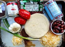 Copycat Taco Bell Mexican Pizza Ingredients