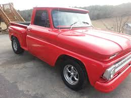 100 Truck Step Up 1966 Chevy Side Pickup Ttruck Classic Truck